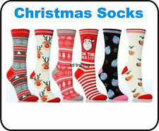 24 Pairs Christmas Gift Socks Ladies Women Wholesale Job Lot Clearance Xmas