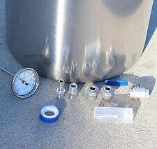 New Home Brew Kettle DIY Kit For Any Stainless Stock Pot Brew Kettle