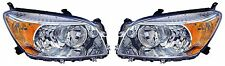 2006 - 2008 TOYOTA RAV-4 BASE LIMITED (CHROME) HEADLIGHT HEAD LAMP LIGHT