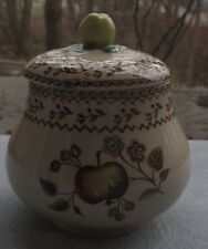 Johnson Brothers Fruit Sampler Covered Sugar Bowl