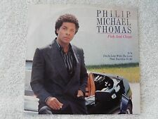 "Philip Michael Thomas ""Fish And Chips/I'm In Love With The Love That..."" PS 45"