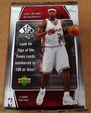 2005-06 SP Authentic HOBBY Pack LeBron James Michael Jordan Auto/Jersey/Patch?