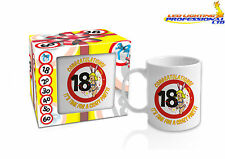 18th BIRTHDAY MUG FOR MEN READY GIFT IN A BOX PRESENT GIVEAWAY - 300ml