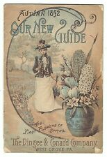 Autumn 1892 Seed & Nursery Catalog Dingee & Conard Co West Grove PA