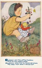 "CHILDREN :''I wonder why the little flowers..."" - PHYLLIS PURSER-SALMON"