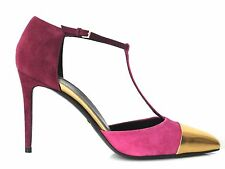 GUCCI HIGH HEELS PUMPS SUEDE PINK GR:41,5 NEU !!!