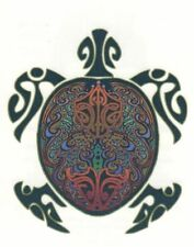 ETERNAL HARMONY SEXY EXOTIC TRIBAL TURTLE TORTISE TEMPORARY TATTOO * MADE IN USA