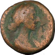 """Crispina Marcus Aurelius Daughter in law Roman Coin """"Lucky Venus"""" Cult  i35585"""