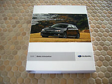 SUBARU COMPLETE LINE UP PRESS KIT CD BROCHURE AND BOOK 2009 USA EDITION