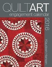 2016 Quilt Art Engagment Calendar by Klaudeen Hansen (2015, Sp (FREE 2DAY SHIP)
