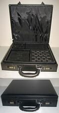 "15"" Attache Style Jewelry Display Travel Sample Case w/ 6 Digit Combination Lock"