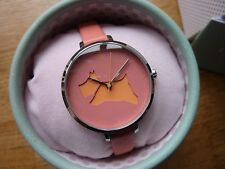 "Radley Damas Reloj ""ir? walkies's Papaya Correa De Cuero"