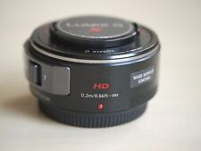 USED PANASONIC Lumix G X Vario PZ 14-42mm F3.5-5.6 Power O.I.S. Lens (Black)