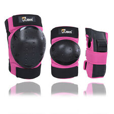 JBM Elbow Knee Wrist Protective Guard Safety Gear Pad skating BMX For Adult