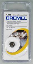 NEW Dremel EZ Lock Polishing Cloth 423E