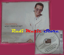 CD singolo Marc Anthony When I Dream At Night 669510 2 EU 2000 SIGILLATO(S20)