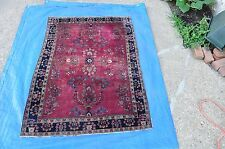 Antique Persian Sarouk Rug 3x5