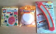 Lot of Assorted, Birthday Related, Cake Decorating Items