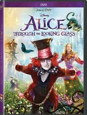 ALICE THROUGH THE LOOKING GLASS (DVD 2016)NEW*Adventure, Family* NOW SHIPPING !!