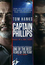 CAPTAIN PHILLIPS (DVD & Digital Ultraviolet) Based on a true story   BRAND NEW!!