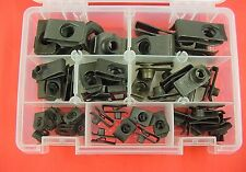 1946-1980 GM 53Pc Assortment Extruded U-Nut Clips Kit Hood Body Panel Fender