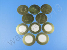 10pcs New 25mm Diameter Piezoelectric Piezo Ceramic Copper Buzzer Film Gasket