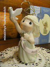 Precious Moments~ORNAMENT~DATED 2008~Blessings Of Peace To You~810002~DOVE