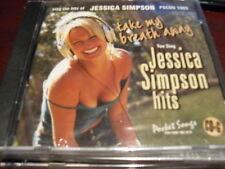 POCKET SONGS KARAOKE DISC PSCDG 1609 JESSICA SIMPSON CD+G MULTIPLEX