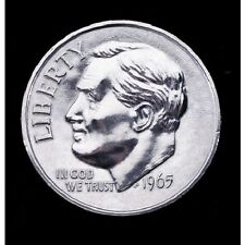 """NEW 3"""" Jumbo Dime Heads & Tails Novelty Gift Paper Weight Education Silver Money"""