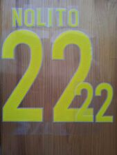 Flocage Football / Nameset  Jersey SPAIN HOME NOLITO EURO 2016