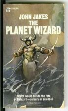 THE PLANET WIZARD by John Jakes, rare US Ace PBO sci-fi pulp vintage pb