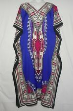 Womens Hippie Boho Caftan Kaftan dress Sleeve Cocktail Maxi Dress One Size