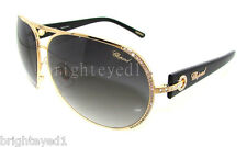 Authentic CHOPARD Gold Aviator Sunglasses SCH 940S - 300 *NEW*