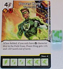 POWER RING WEAK-WILLED 105 Green Arrow & The Flash Dice Masters Rare
