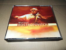ROSTROPOVICH/BEST RECORDINGS/BACH/BEETHOVEN/HAYDN/SHOSTAKOVICH/BRAHMS/3 CD EMI