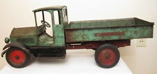 VINTAGE STURDITOY CONSTRUCTION DUMP TRUCK PRESSED STEEL TOY ANTIQUE NOT BUDDY L