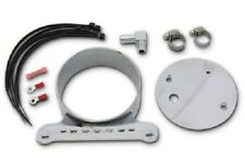 NEW SPEEDOMETER TACHOMETER SINGLE CHROME BRACKET KIT HARLEY 95-UP XL 95-04 FXD