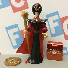 1992 Mattel ArcoToys Disney Aladdin Series 1 Jafar Figure w/ Accessories