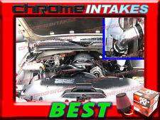 K&N+BLACK RED 99-07 CHEVY SILVERADO/SIERRA/TAHOE/SUBURBAN/ESCALADE V8 AIR INTAKE