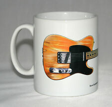 Guitar Mug. Bruce Springsteen's 1950's Fender Esquire illustration.