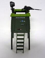 G.I. JOE WATCH TOWER Vintage Action Figure Playset NEAR COMPLETE 1984