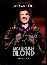 Sanne Mieloo Natürlich Blond Autogrammkarte Original Signiert ## BC 31945