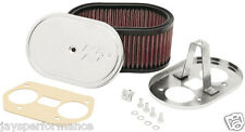 56-1170 K&N CUSTOM AIR FILTER KIT FOR WEBER 36/40/44 IDF/IDA CARBURETORS