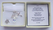 Godmother Godfather Christening Thankyou Guardian Angel Present Personalisd Gift