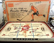 1960s Vintage Sears Munro All Star Canadian Table Hockey Game NHL NY vs Detroit