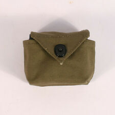 US Late WW2 Airborne Rigger Pouch Small. Reproduction. Green