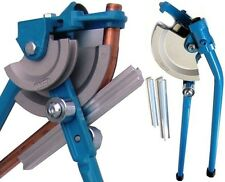 Hand pipe Bender For 12, 15 and 22 mm Tube device Copper Aluminum