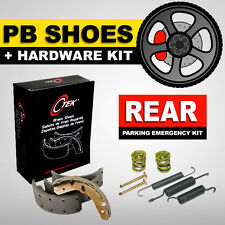Parking Brake Shoes + Harware Kit Dodge Ram 1500, Dodge Durango, Ford E-150