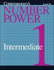 Number Power TABE: Number Power TABE - Intermediate 1/Level M by Contemporary...