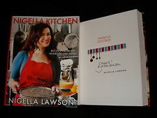 Nigella Lawson signed Nigella Kitchen 1st printing HC book (bookplate) *dinged*
